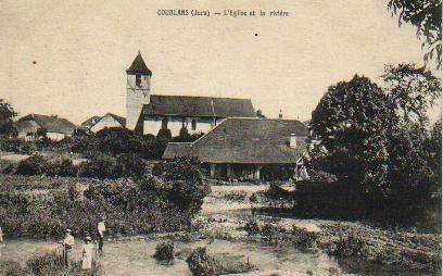 Eglise de Courlans